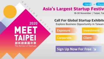 Meet Taipei 2020 Arising Vision: A New Horizon of Startups